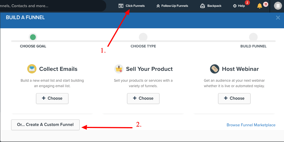 how to create membership site with clickfunnels