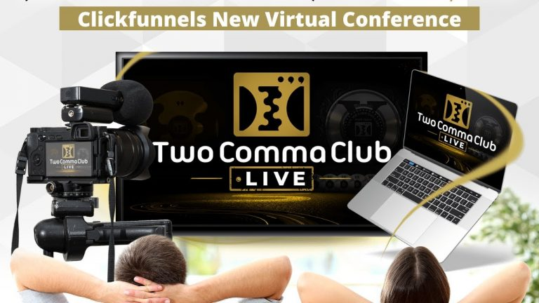 What is 2 Comma Club Live virtual conference 2021 and how to join?